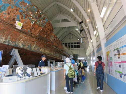 海上保安資料館横浜館入ってすぐ