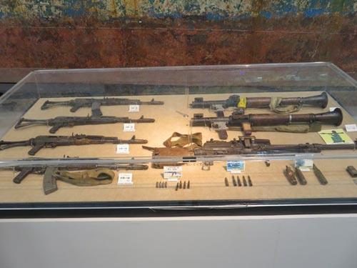 海上保安資料館横浜館自動小銃など