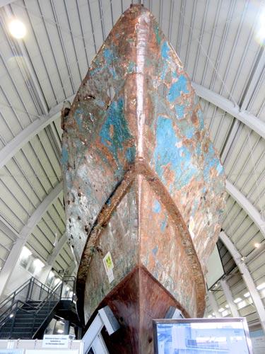 海上保安資料館横浜館工作船正面