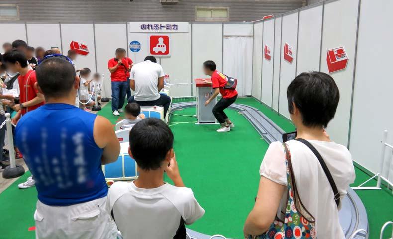 トミカ博2019横浜「のれるトミカ」