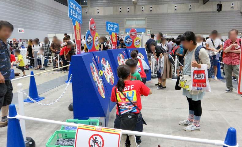 トミカ博2019横浜「トミカルーレット」