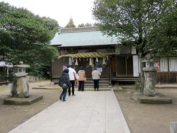 天空の鳥居「高屋神社」本宮