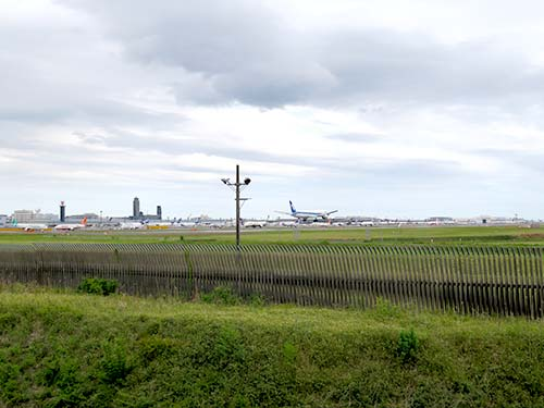 さくらの山公園は飛行機を間近で見れる絶景スポット