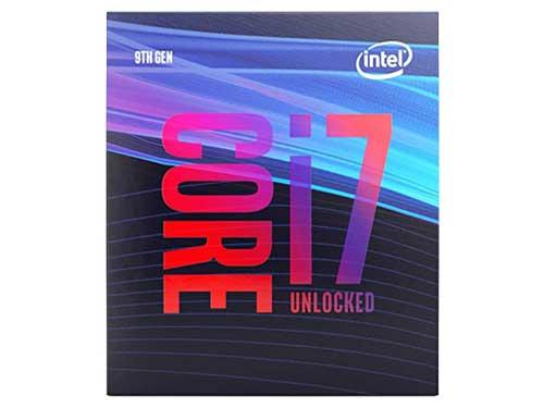 自作パソコン「intel CORE i 7 9700K」
