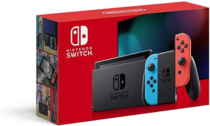 Nintendo Switchネオンブルー