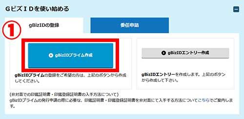 gBizIDプライム申請書作成01