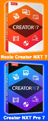 Roxio Creator NXT 7ナバーSide